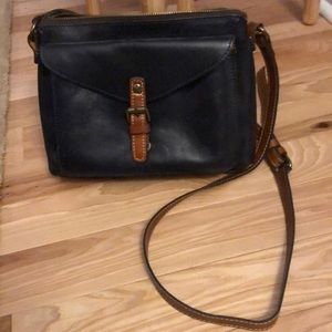 Patricia Nash navy crossbody
